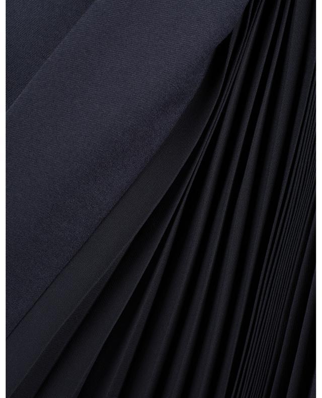 Jupe en laine vierge avec détails plissés CHLOE
