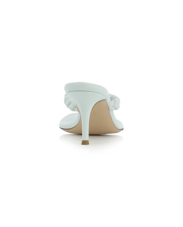 Sandales à talon esprit tongs en cuir nappa Tropea 70 GIANVITO ROSSI