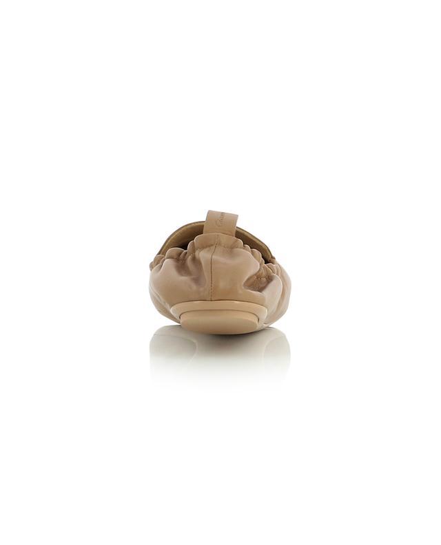 Mocassins souples en cuir GIANVITO ROSSI