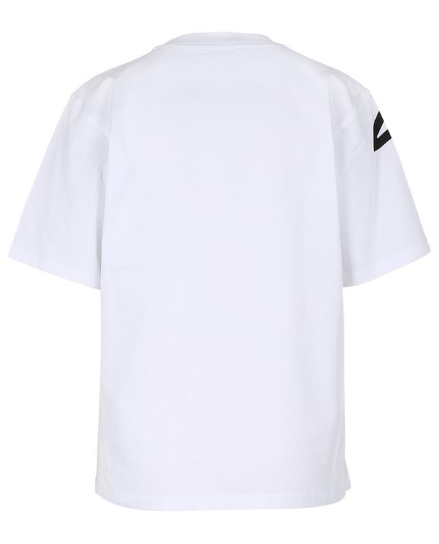 T-shirt imprimé en coton bio Beauty Face VICTORIA VICTORIA BECKHAM
