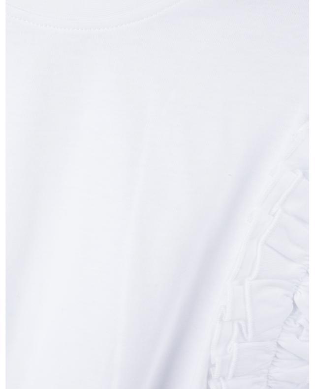 T-shirt en jersey bio à volants VICTORIA VICTORIA BECKHAM