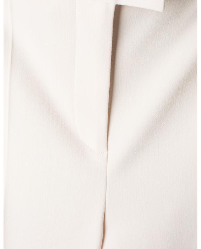 Pantalon droit taille haute en sergé VICTORIA VICTORIA BECKHAM