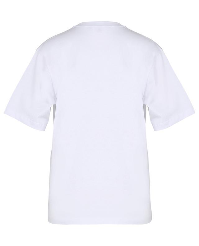 T-shirt en coton Try And Make Me Smile VICTORIA VICTORIA BECKHAM