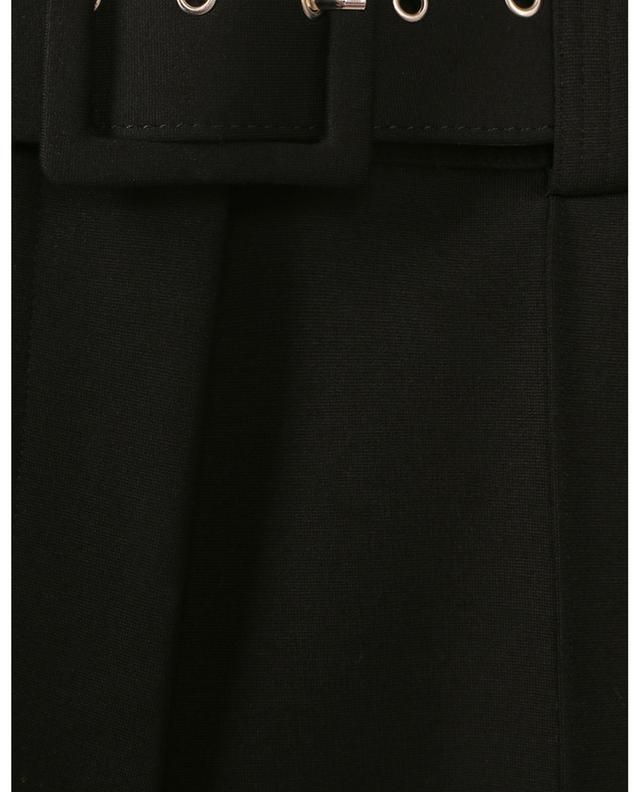 Pantalon à pinces en viscose mélangée avec ceinture VICTORIA VICTORIA BECKHAM