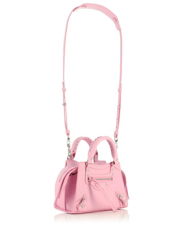 Handtasche aus Leder in Kroko-Optik Neo Classic City Mini BALENCIAGA