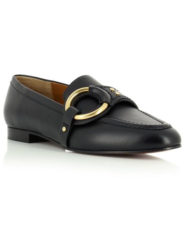 Demi O detail calfskin loafers CHLOE