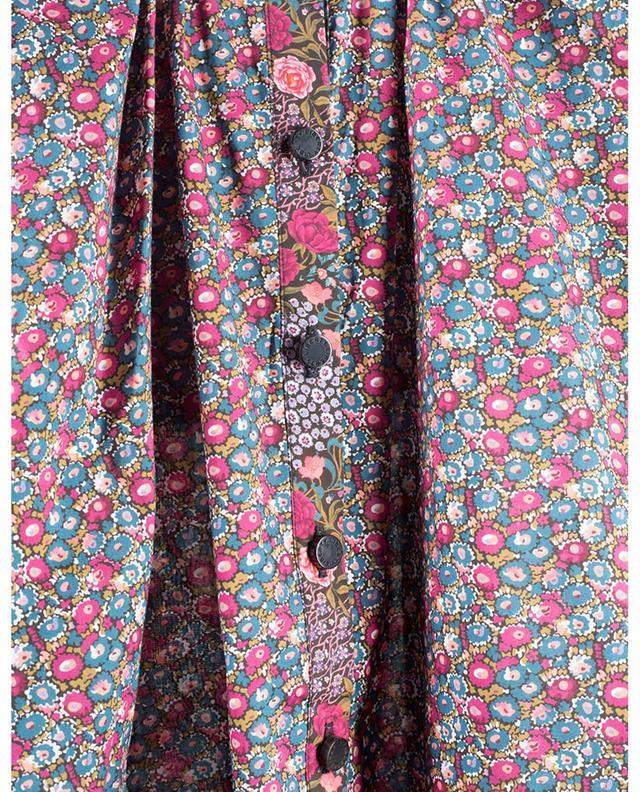 Chemise ample fleurie à volants Iowa Prairie Patti Tana Lawn LIBERTY LONDON