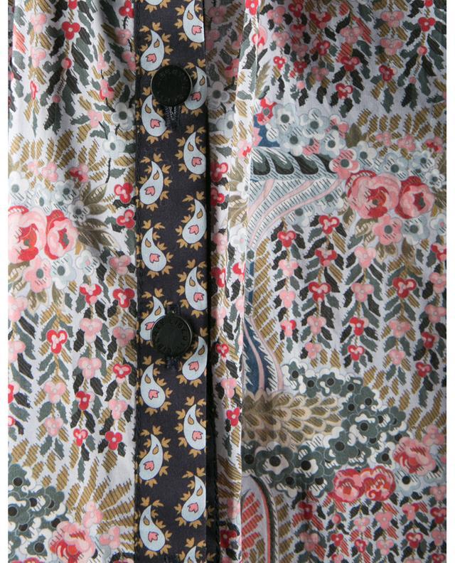 Chemise en coton fleuri Seraphina Iova Prairie Tana Lawn LIBERTY LONDON