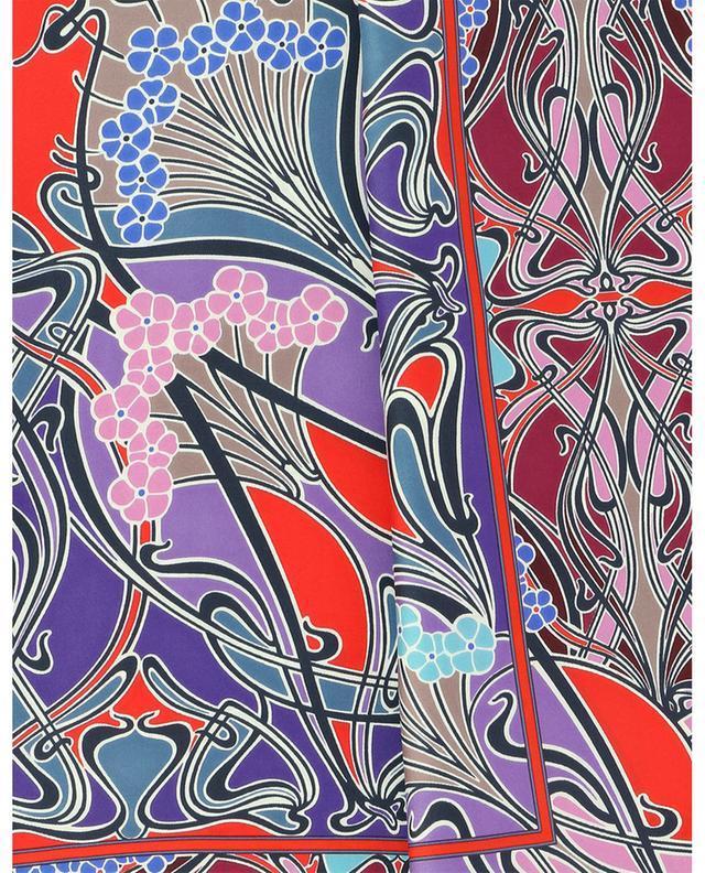 Carré de soie imprimé Art Nouveau New Ianthe LIBERTY LONDON