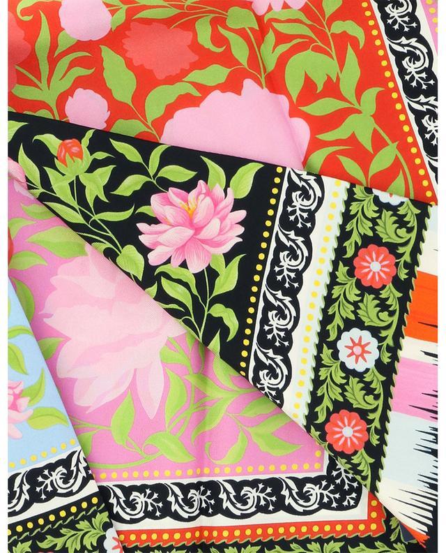 Carré de soie floral graphique Aurora LIBERTY LONDON