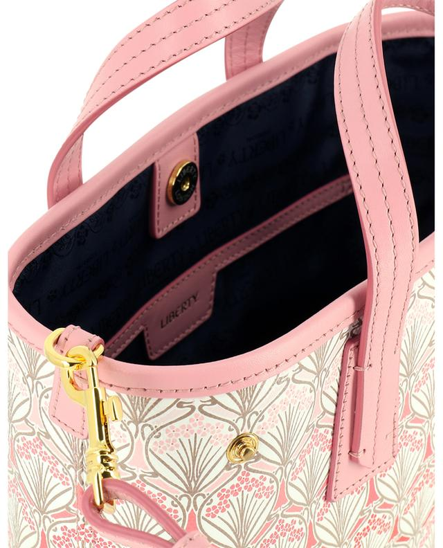 Mini-sac cabas en toile imprimée Iphis Cherry Blossom Marlborough LIBERTY LONDON