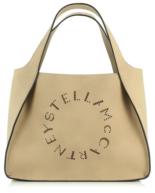 Sac à main en cuir synthétique grainé Stella Logo STELLA MCCARTNEY