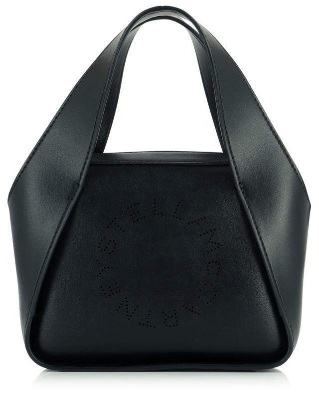 Sac porté croisé en nappa synthétique Stella Logo Mini STELLA MCCARTNEY