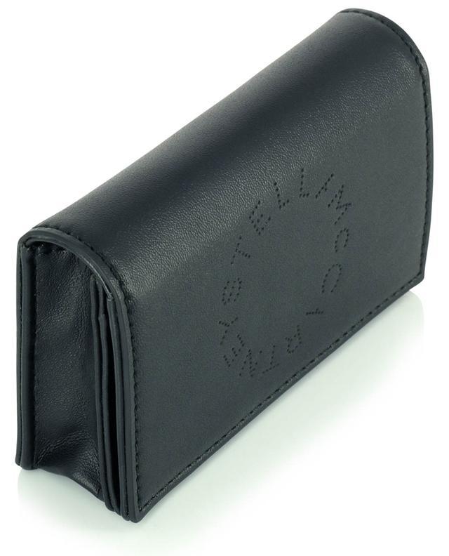 Porte-cartes à rabat en cuir synthétique Stella Logo STELLA MCCARTNEY