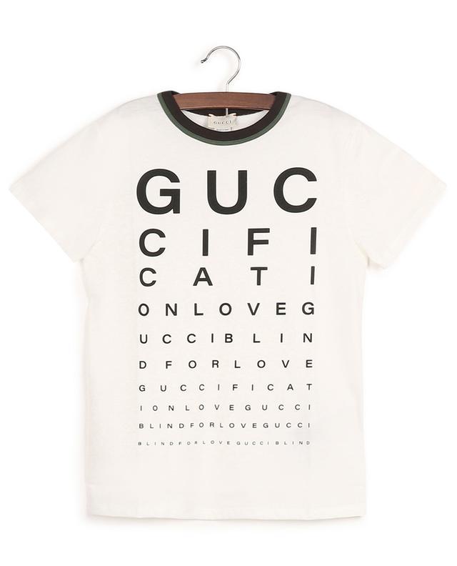 T-shirt imprimé multi-slogans Guccification GUCCI