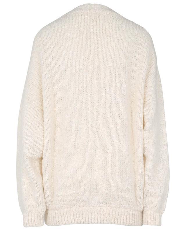 Cardigan en coton, alpaga et laine mélangés Tudbury AMERICAN VINTAGE