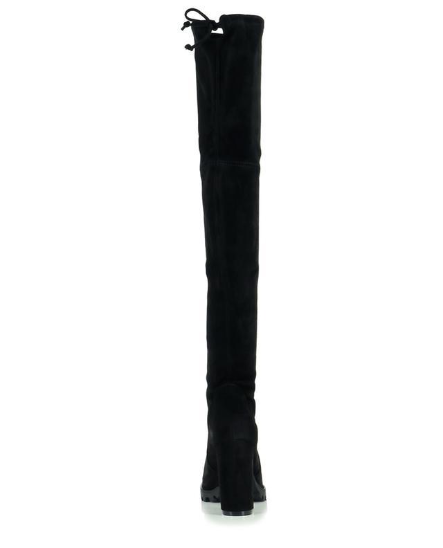 Stiefeletten aus Wildleder mit Absatz Zoella 100 STUART WEITZMAN