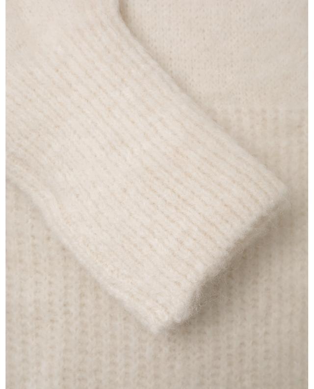 East wide alpaca and wool blend cardigan AMERICAN VINTAGE