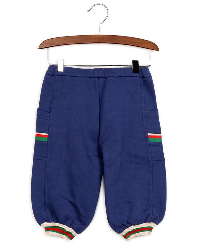 Pantalon de jogging bébé détail Web GUCCI