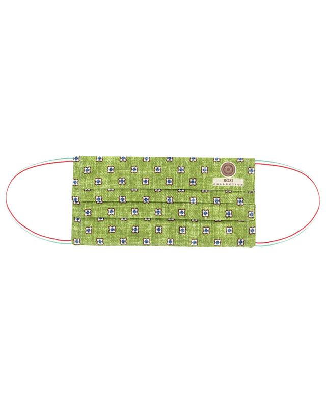 Surgical type face mask with graphic patterns ROSI COLLECTION