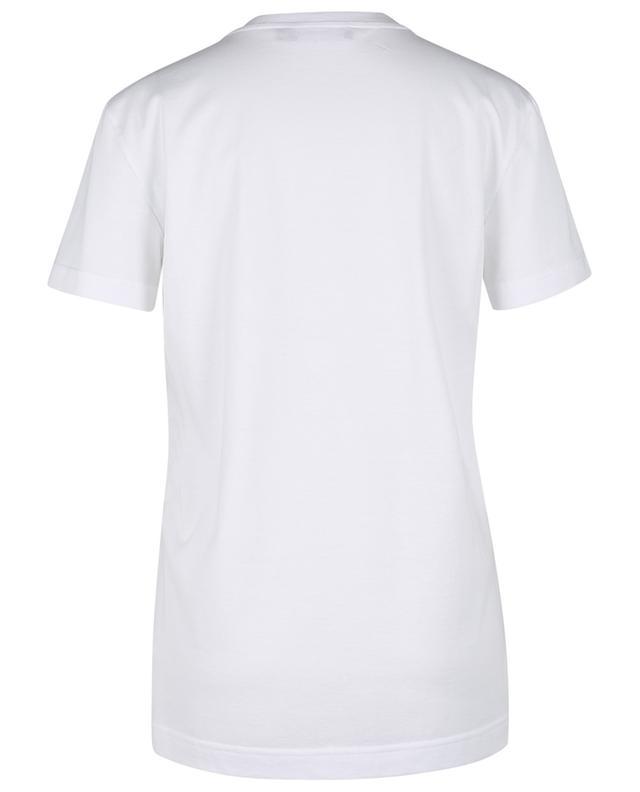 T-shirt en jersey imprimé logo floqué DOLCE & GABBANA
