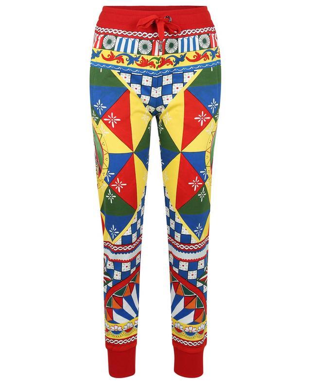 Pantalon de jogging imprimé Carretto DOLCE & GABBANA