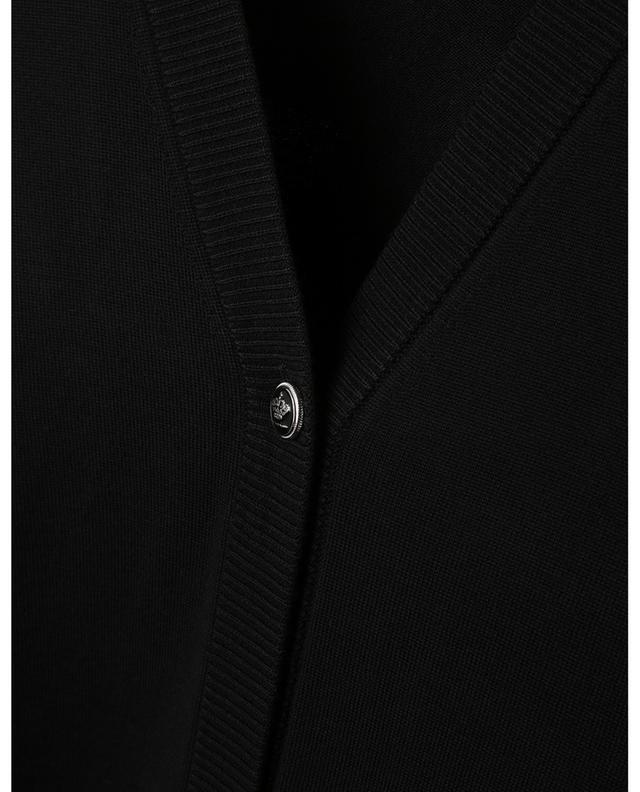 Cardigan long boutonné avec ceinture DOLCE & GABBANA