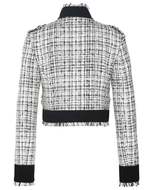 Veste tailleur raccourcie en tweed Raschel DOLCE & GABBANA