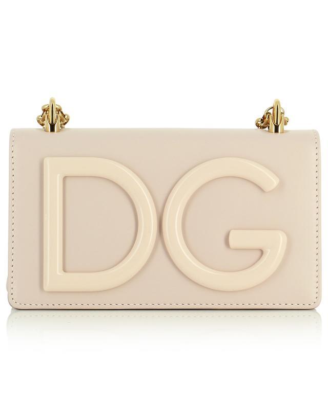 Petit sac porté épaule en cuir de veau DG Girls Phone Bag DOLCE & GABBANA