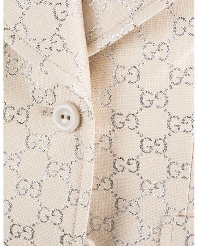 Veste courte en laine mélangée GUCCI