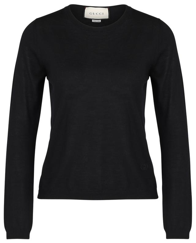 Pull col rond en cachemire GUCCI