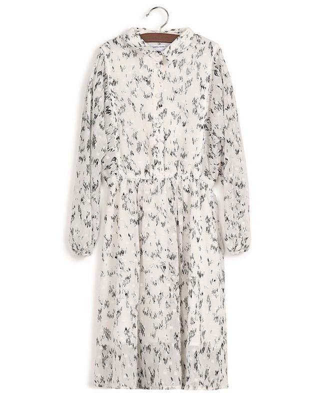 Robe chemise en mousseline recyclée imprimée Kiely DESIGNERS REMIX GIRLS