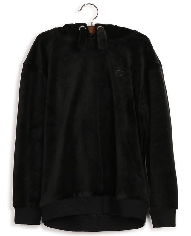 Sweat-shirt à capuche en velours Frances Hoodie New DESIGNERS REMIX GIRLS