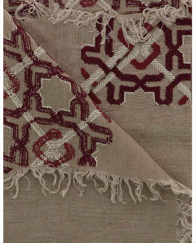 Etole brodée en lin et coton mélangés Alhambra SEP JORDAN