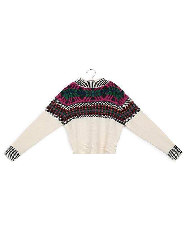 Pullover aus Mohair- und Wollmix Iroquois INDEE