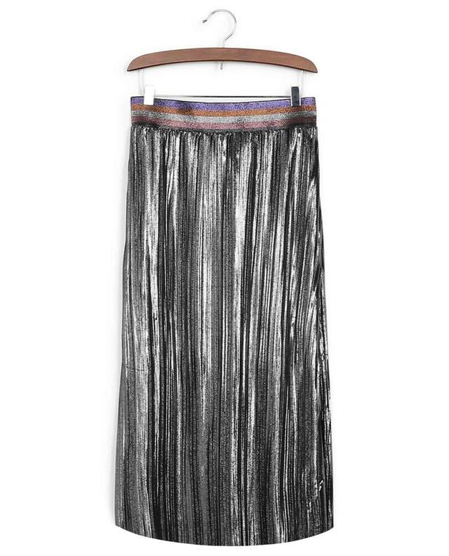 Inspired silver midi skirt INDEE