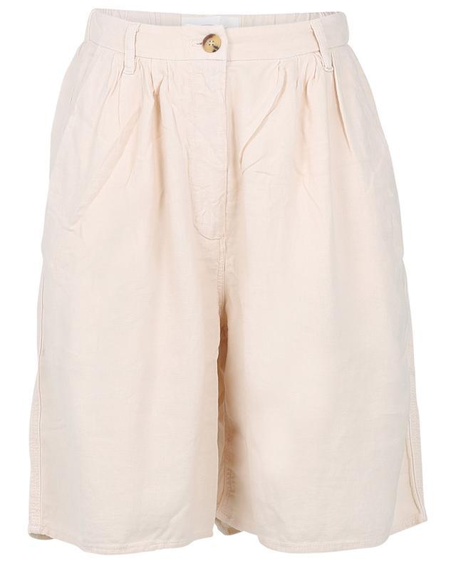 Oversize-Shorts aus Leinen- und Viskosetwill Kunatata AMERICAN VINTAGE
