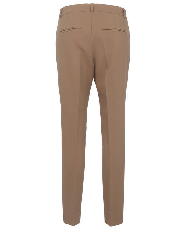 Pantalon slim en laine vierge mélangée MAISON COMMON