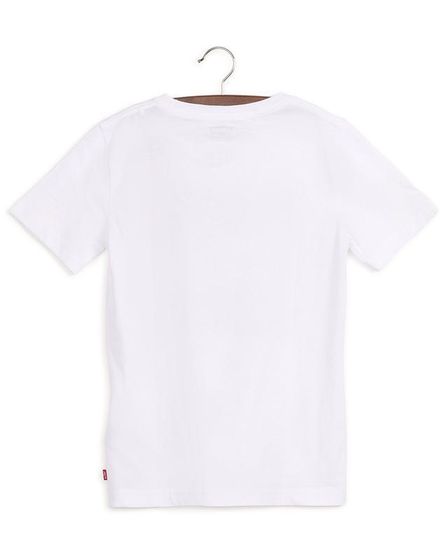T-shirt en coton avec imprimé graphique LEVI'S KIDS