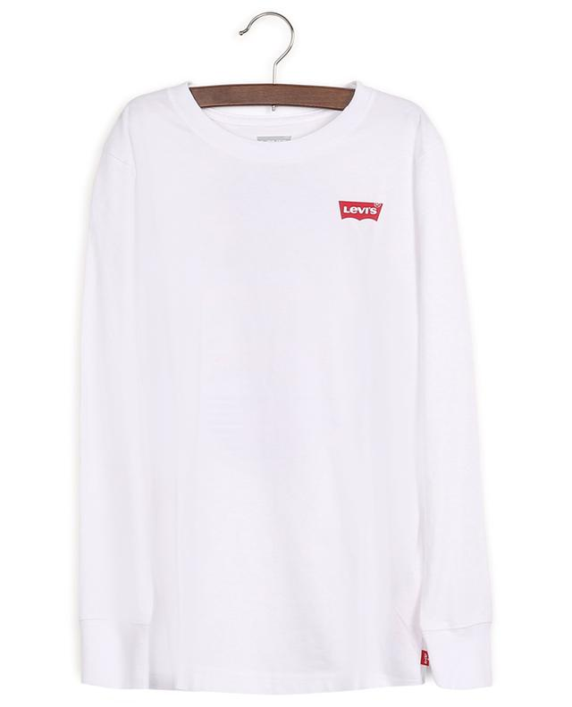 Cotton long-sleeve T-shirt with back print LEVI'S KIDS