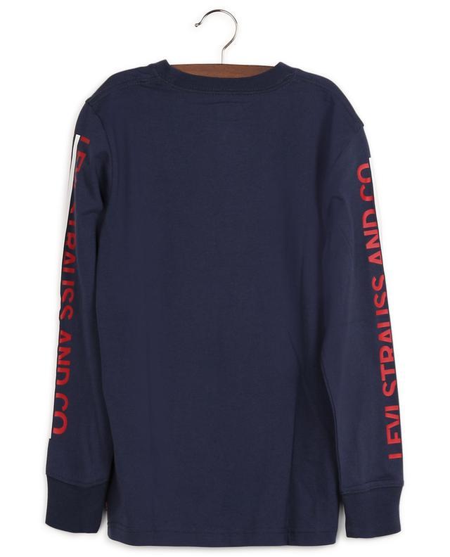 T-shirt à manches longues en coton LEVI'S KIDS