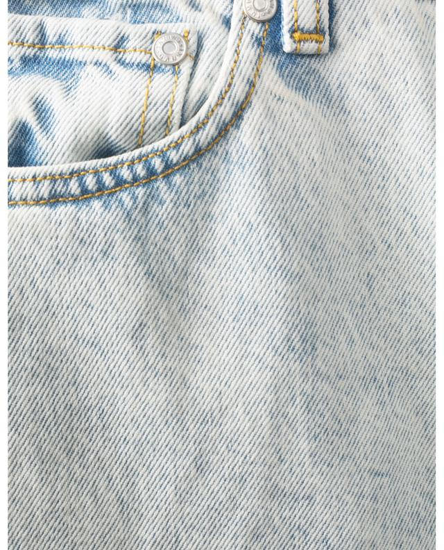 Jean clair raccourci taille haute en coton bio GANNI