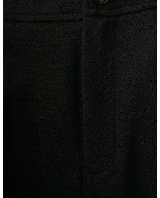 Pantalon droit en crêpe lourd GANNI