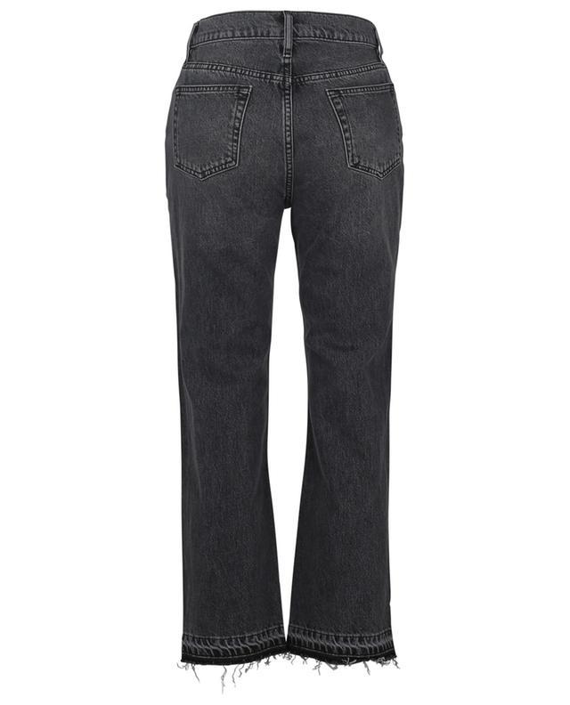 Alejandra Solar Stone frayed straight-leg jeans 10.11 STUDIOS