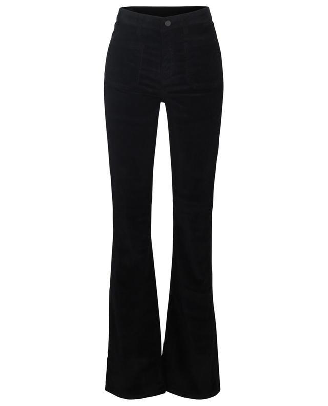 Rose Nightfall corduroy high-rise bootcut trousers 10.11 STUDIOS