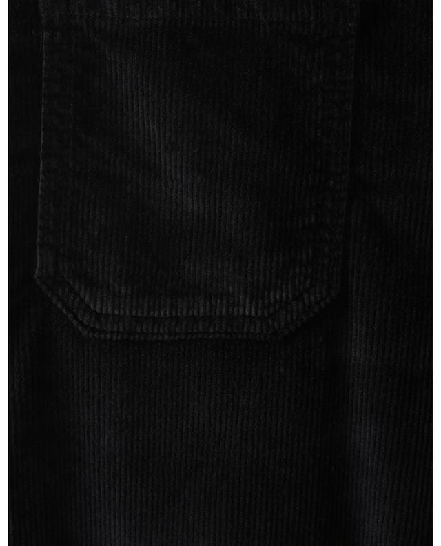 Pantalon bootcut taille haute en velours côtelé Rose Nightfall 10.11 STUDIOS