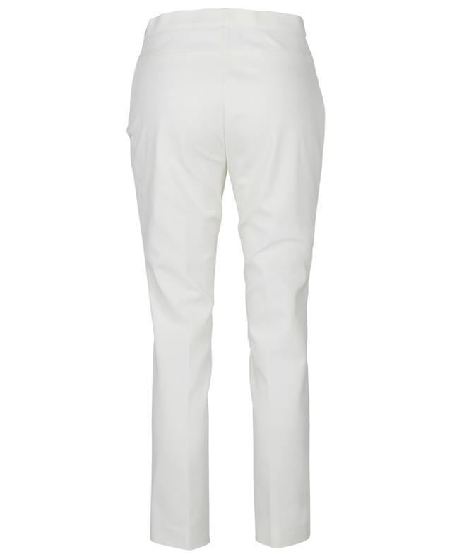 Pantalon slim raccourci en coton mélangé Franca AKRIS PUNTO