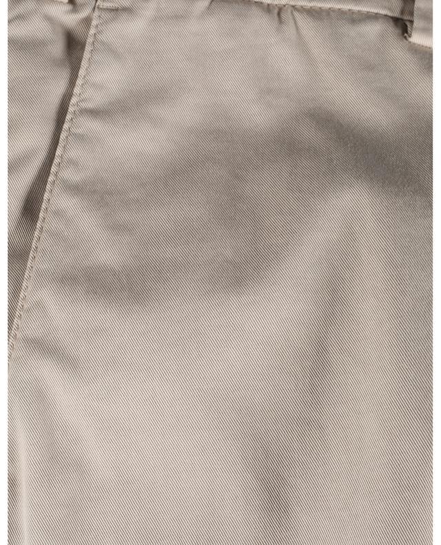 Pantalon en coton stretch coupe italienne BRUNELLO CUCINELLI