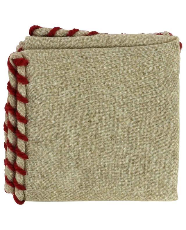 Pochette en flanelle de laine BRUNELLO CUCINELLI