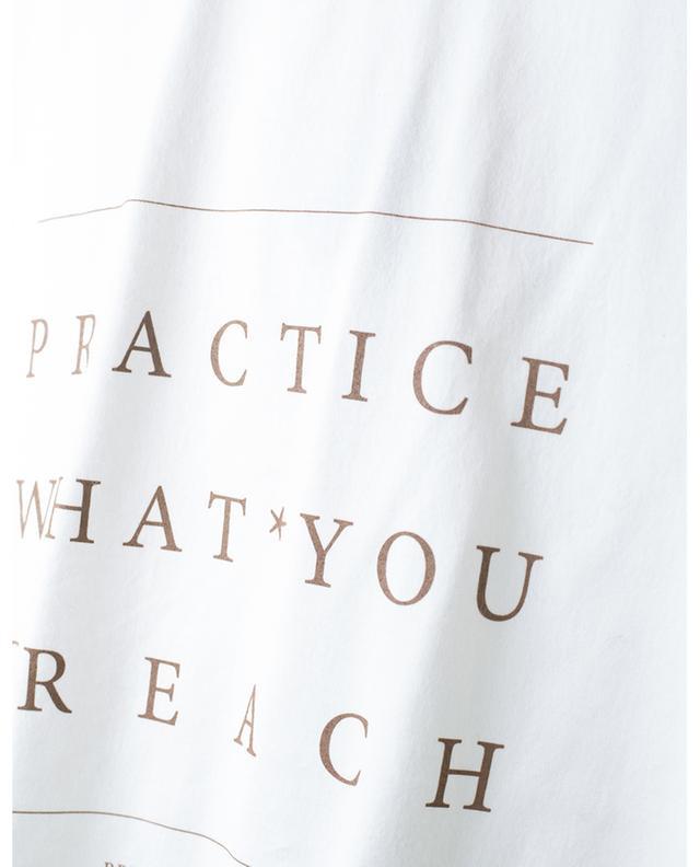 T-shirt Practice What You Preach BRUNELLO CUCINELLI